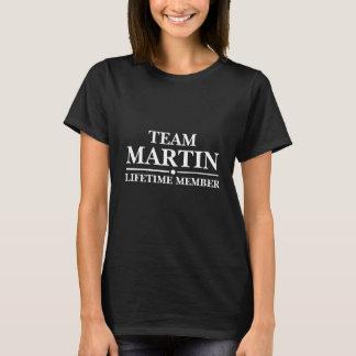 Team Martin Lifetime Member T-Shirt