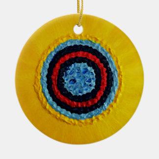 Team Matthew Sunflower for Autism Ceramic Ornament