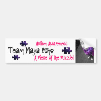 Team Maya Echo Bumper Sticker