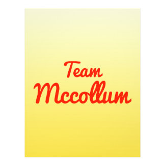 Team Mccollum Custom Flyer