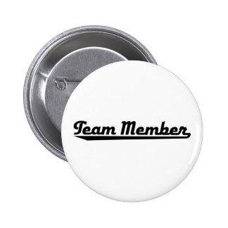 team member anstecknadel