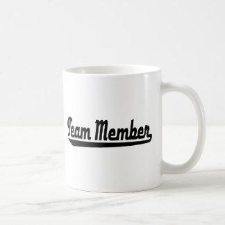 Team Member Coffee Mugs