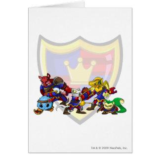 Team Meridell Group Greeting Card