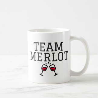 Team Merlot Coffee Mug