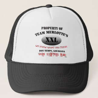 Team Merlottes Shape Shifter HBO True Blook Trucker Hat