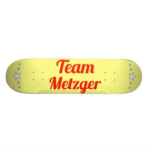 Team Metzger Skateboard Deck
