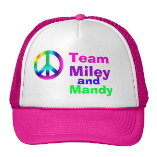 Team miley and mandy cap