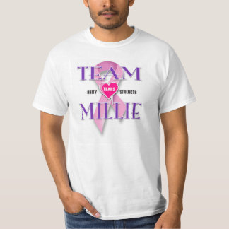 TEAM MILLIE CANCER WALK T-Shirt