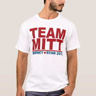 Team Mitt Romney Ryan 2012 T-Shirt