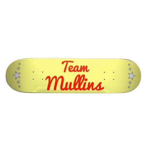 Team Mullins Skateboard Decks