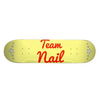 Team Nail Skate Board