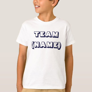 TEAM (NAME) Kids T-shirt