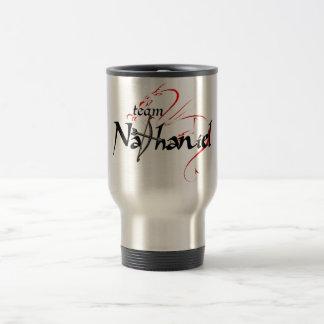 Team NATHANIEL! travel mug