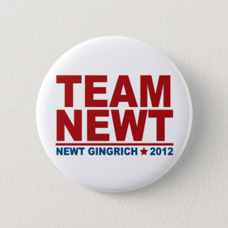 Team Newt Gingrich 2012 6 Cm Round Badge