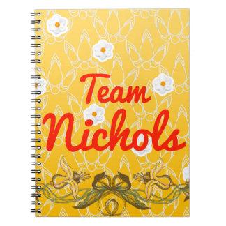 Team Nichols Notebook