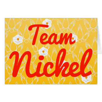 Team Nickel Cards