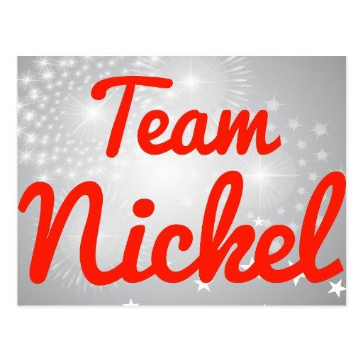 Team Nickel Postcard