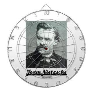 Team Nietzsche Friedrich Nietzsche Dartboard With Darts