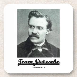 Team Nietzsche Friedrich Nietzsche Drink Coasters