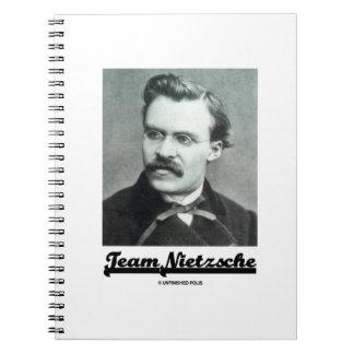 Team Nietzsche Friedrich Nietzsche Notebook