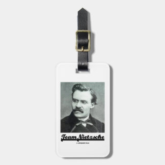 Team Nietzsche Friedrich Nietzsche Travel Bag Tag