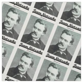 Team Nietzsche Portrait Of Nietzsche Fabric