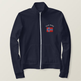 TEAM NORGE Sports Flag Jackets