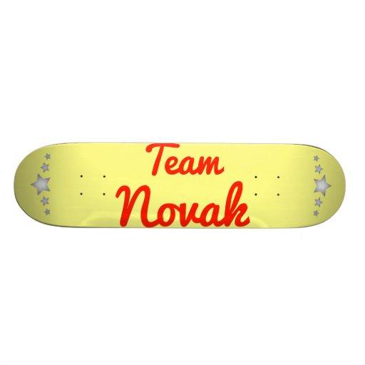 Team Novak Skateboards