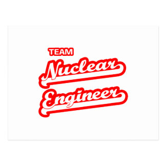 Team Nuclear Engineer Postcard