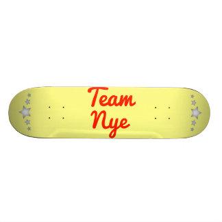 Team Nye Skate Deck