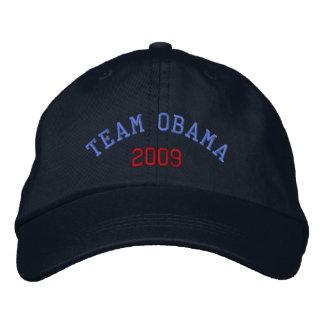 Team Obama 2009 Embroidered Baseball Cap
