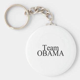 Team Obama (Blk) Keychain