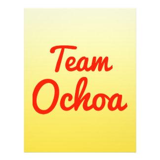 Team Ochoa Flyer Design