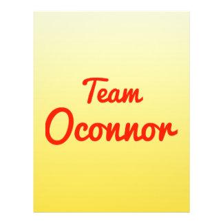 Team Oconnor Full Color Flyer