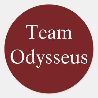 Team Odysseus sticker