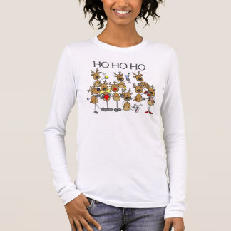 Team of Reindeer Long Sleeve T-Shirt