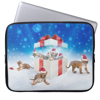 Team of young tigers | Best Christmas Gifts Ever Laptop Sleeve
