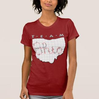 Team Ohio Agility Red/Maroon Shirts