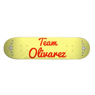 Team Olivarez Skateboard Decks