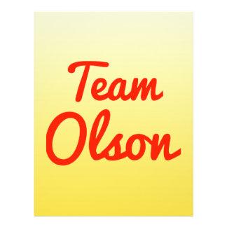 Team Olson Flyer
