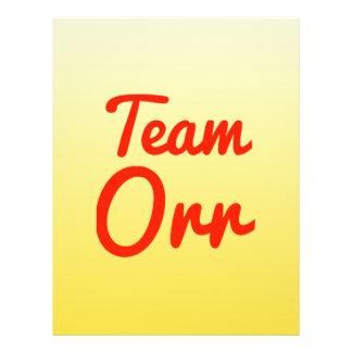 Team Orr Flyers