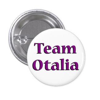 Team Otalia Button 1 1/4 inch