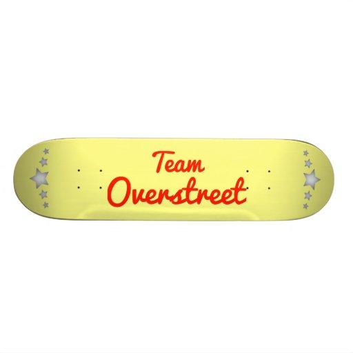 Team Overstreet Skateboards