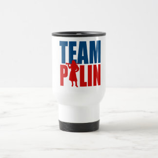TEAM PALIN -- TRAVEL MUG