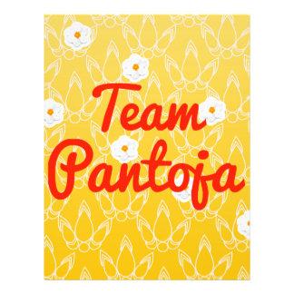 Team Pantoja Flyer