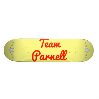 Team Parnell Skate Boards