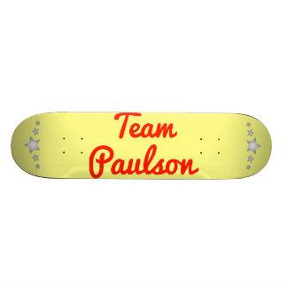 Team Paulson Skateboards