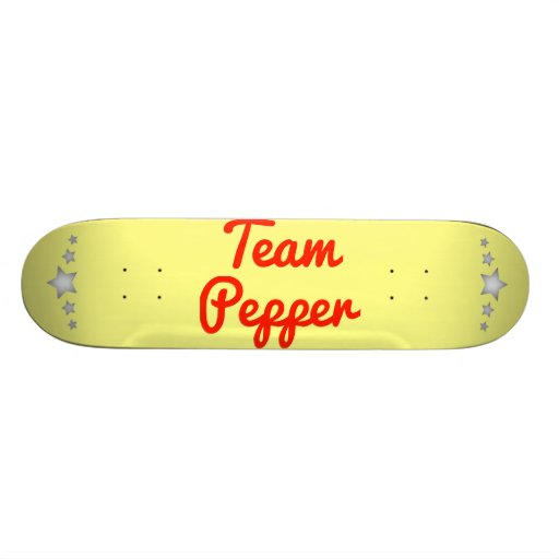 Team Pepper Skate Board