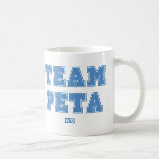 Team PETA Basic White Mug