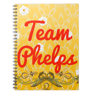 Team Phelps Note Books